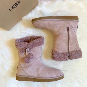 UGG Plumdale Cuff Short Boots In Dusk